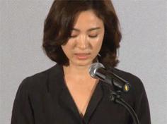 송혜교 시사회서 심경 밝혀