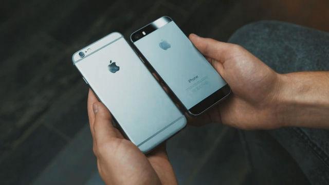 드디어 대공개! 아이폰6 실물