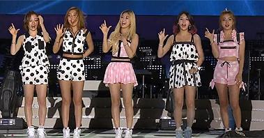 레이디스 코드 - Kiss Kiss [열린음악회] 20140914 KBS