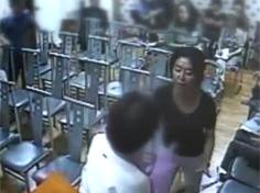 폭행 혐의 김부선 CCTV 영상 보니