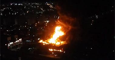 한국타이어 대전 공장 초대형 화재