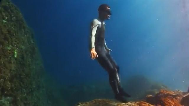 물 위를 걷는 사람 등장?