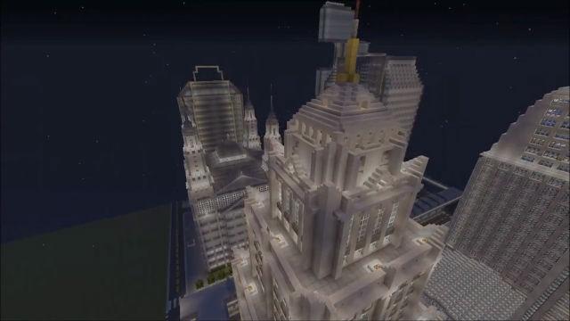 2년 동안 만든 가상의 도시