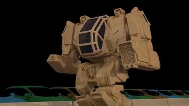 리얼 로봇 전투 꿈꾸는 메가봇