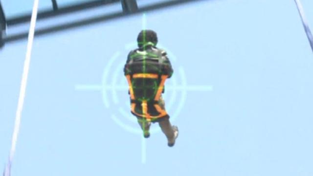 줄 없는 뛰는 번지 점프가 있다!