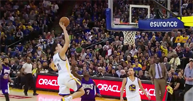 [NBA 독점영상] GSW 탐슨, 어떻게 역사를 썼나