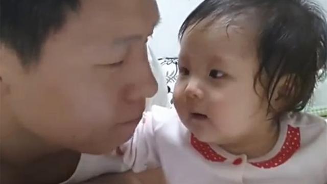 아기 기절시킨 아빠 돌발행동
