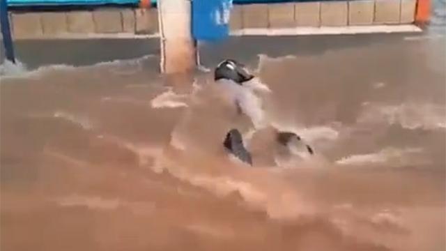 맨홀의 위험성, 홍수나면 큰일나