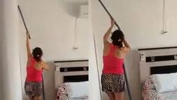 엄마의 청소법 이상한 점 발견