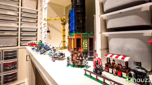 흔한 레고 마니아의 방, 헉