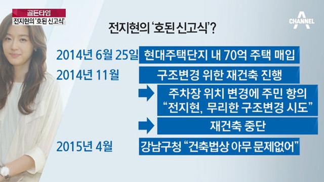 전지현 섬성동 호된 신고식