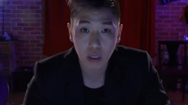 혀가 쑥 뽑히는 호러 마술 공개