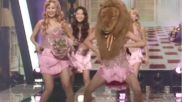 맙소사, 소녀시대 1위 세레모니