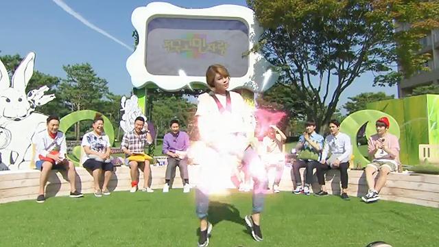 장도연의 춤사위에 문화 충격
