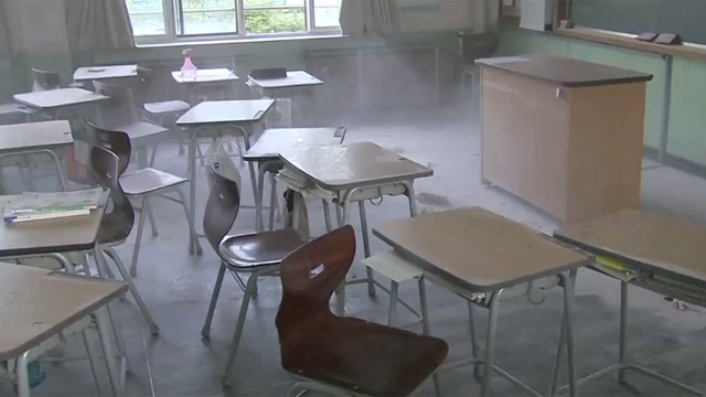 의문만 남긴 중학교 폭발사고