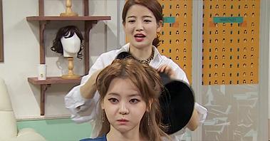 차홍, 서유리와 세계 3대 미녀 헤어 재연! [마리텔] 24회 20151010