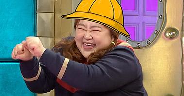 홍윤화의 준비된 넘사벽 개인기! [라디오스타] 455회 20151125