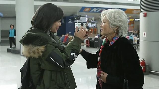 58세가 된 제시 그리고 87세 엄마