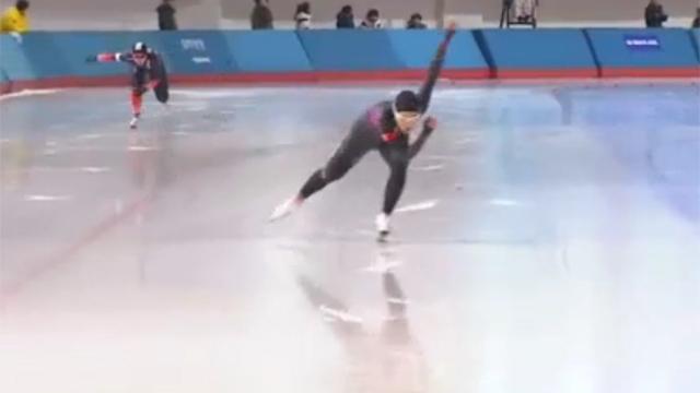 500m 3번째 우승 금메달 이상화