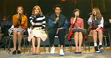 김형석X전자맨팀이 편곡한 ′퓨전재즈풍′ <바라봐> 공개! [tvN 노래의탄생] 1회 20160429