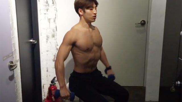 남자 어깨 넓어지는 운동 방법