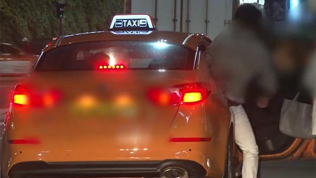 한국망신 제대로 시키는 택시