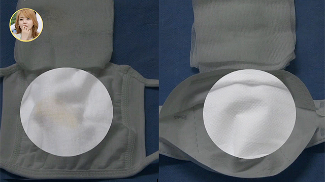 일반 마스크 vs 황사마스크 차이