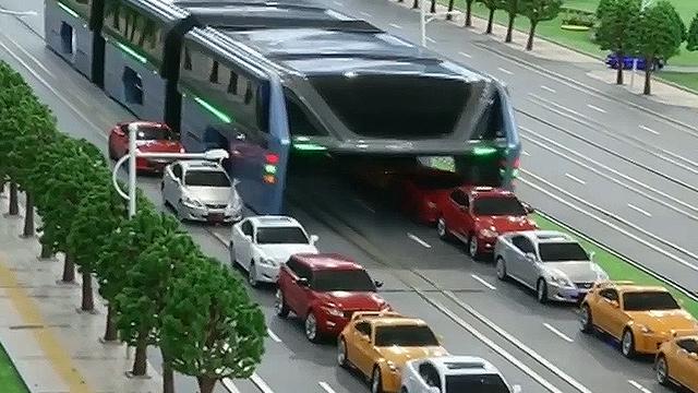 시범 운행 되는 신개념 대중 교통