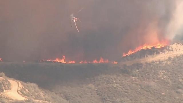 지금도 확산 중인 LA 대형 산불