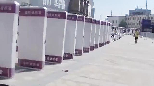 중국의 흔한 인간 도미노 클래스