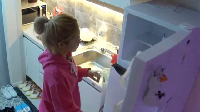 모두 놀라게 만든 냉장고 속
