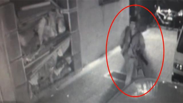 총격범 성병대 추격 CCTV 영상