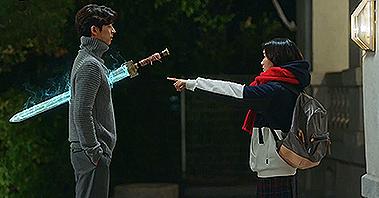 '진짜가 나타났다!' 공유, 검을 볼 수 있는 김고은에 경악 [tvN 10주년 특별기획 <도깨비>] 3회 20161209