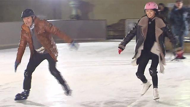 모두가 깜짝 놀란 스케이트 실력