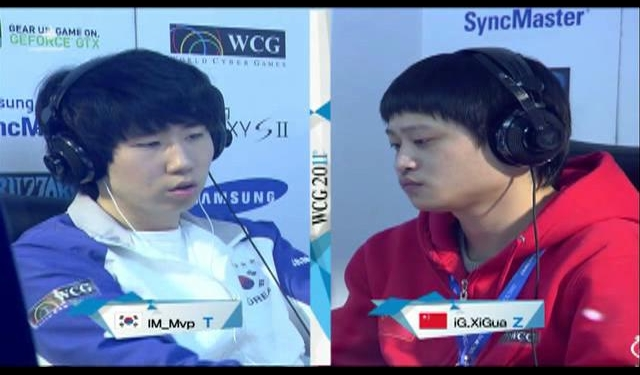  1 (T)() vs LeiWang(Z)() _ WCG 2011 GF   